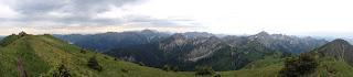 Panoramablick am Grat zum Feigenkopf