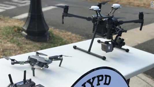 Kota New York Gunakan Drone dalam Pengamanan Tahun Baru 2019