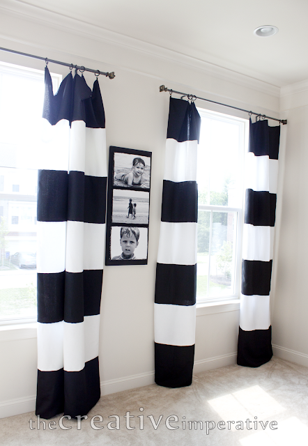 The Creative Imperative: Black and White Horizontal Striped ...