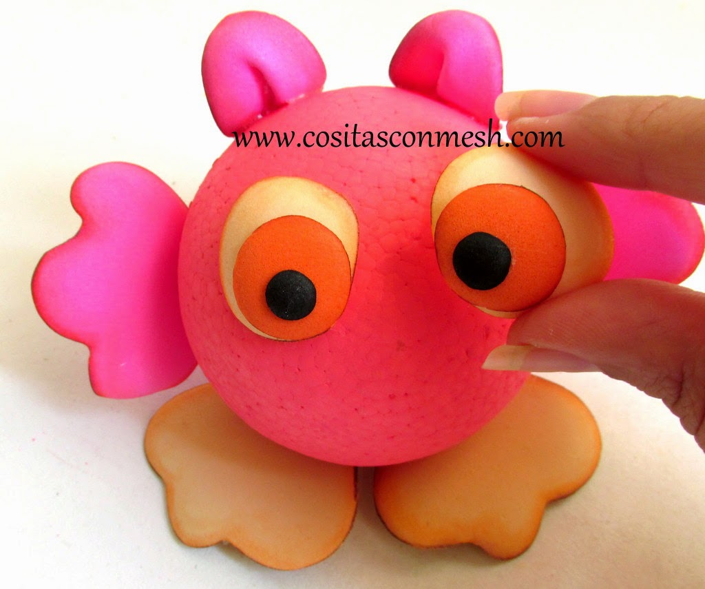 Muñecos-goma-eva