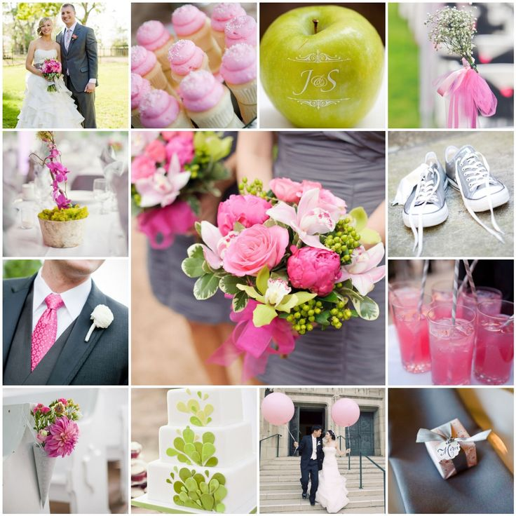 Wedding Bridal Fashion Blog Green And Pink Wedding Theme For