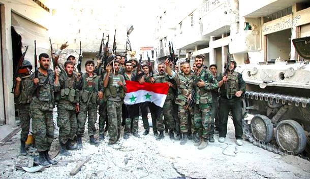 Militer Suriah Bergerak Siap Hadapi Tentara Turki