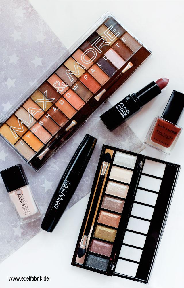 die Edelfabrik, Review der Marke Max + More Kosmetik