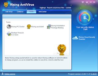 تنزيل برنامج Rising Antivirus لازالة البرامج الضارة من الكمبيوتر
