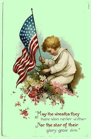 Memorial Day Greetings Cards 2017