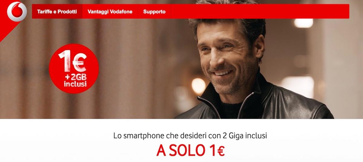 Offerta Vodafone Huawei P8 Lite 2017 a 1 euro