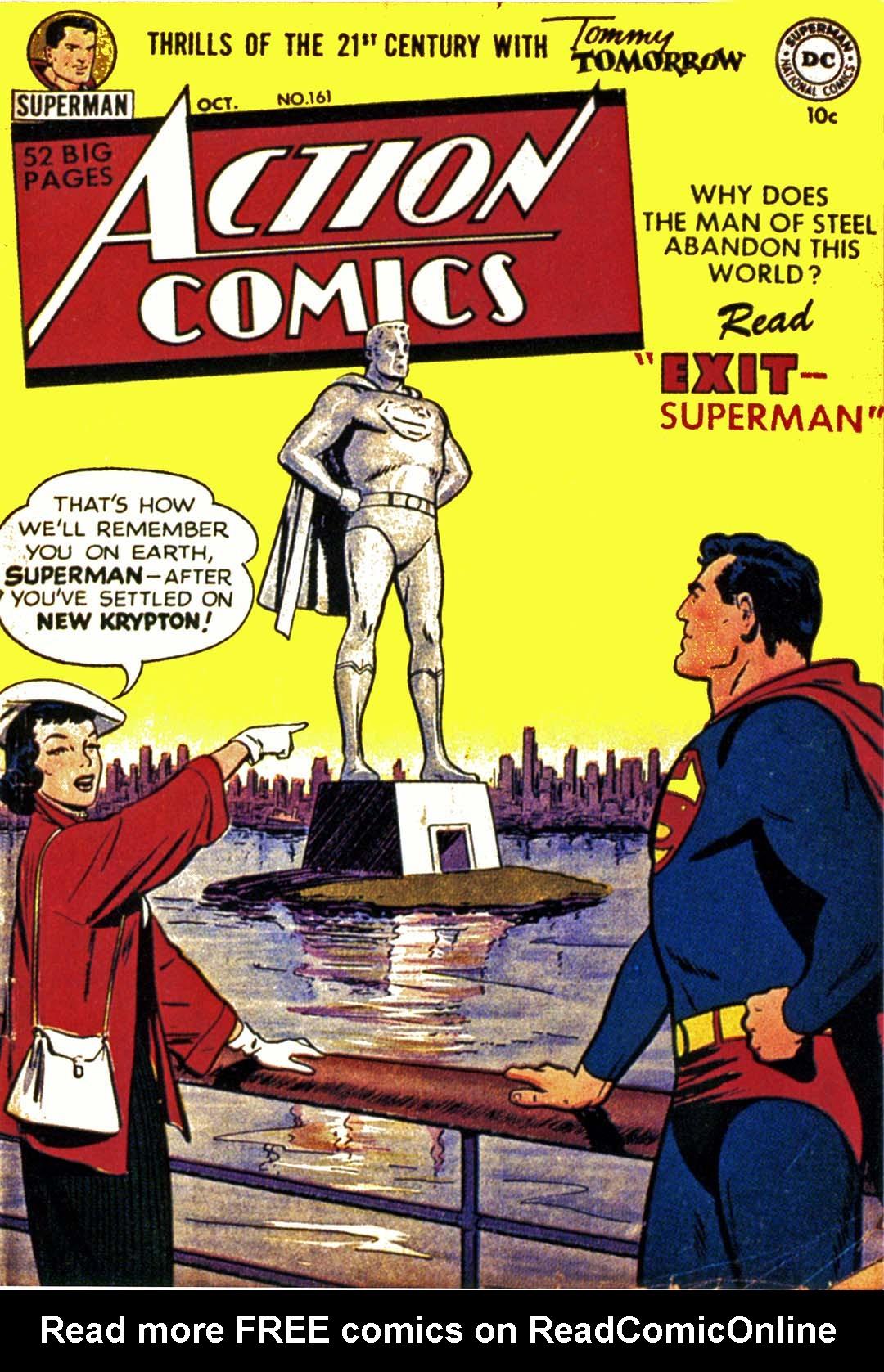 Action Comics (1938) 161 Page 0