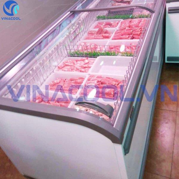 tủ bảo quản thực phẩm đông lạnh