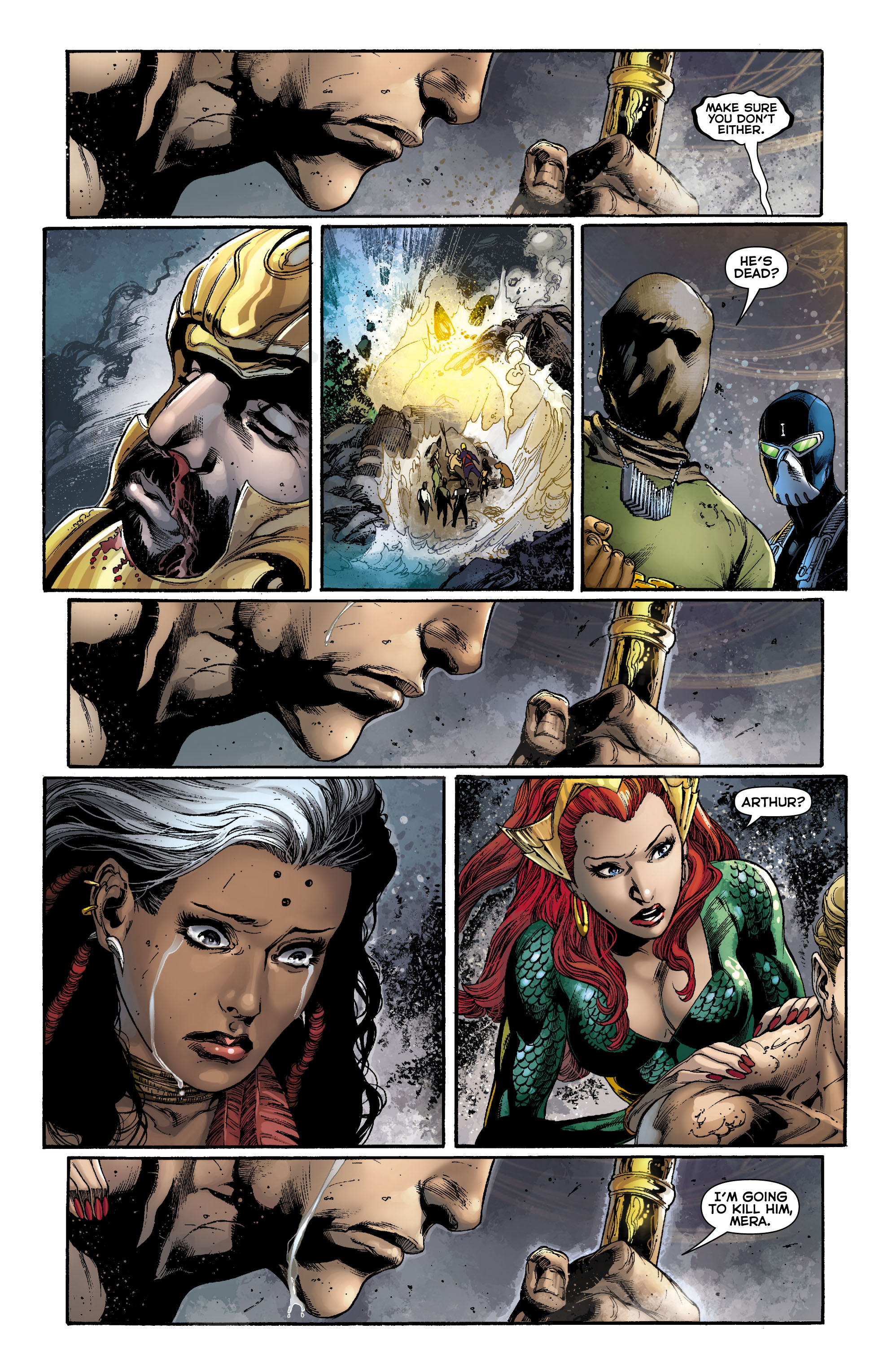 Read online Aquaman (2011) comic -  Issue #12 - 19