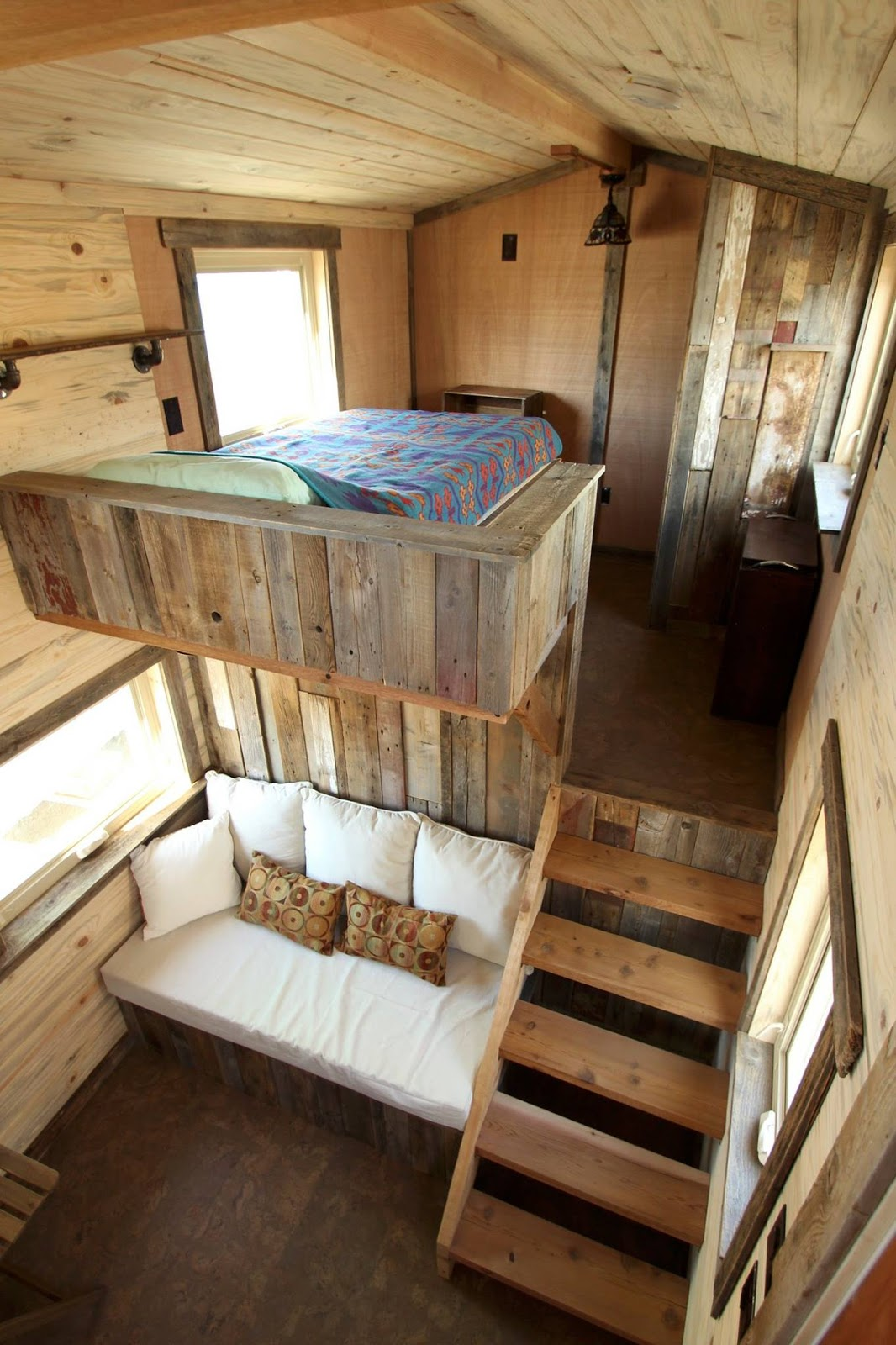 Tiny house town jj 39 s place from simblissity tiny homes - Best rustic interior design ideas beauty of simplicity ...