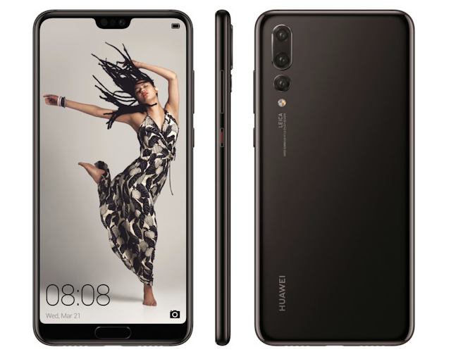 Huawei launches three smartphone with rear camera