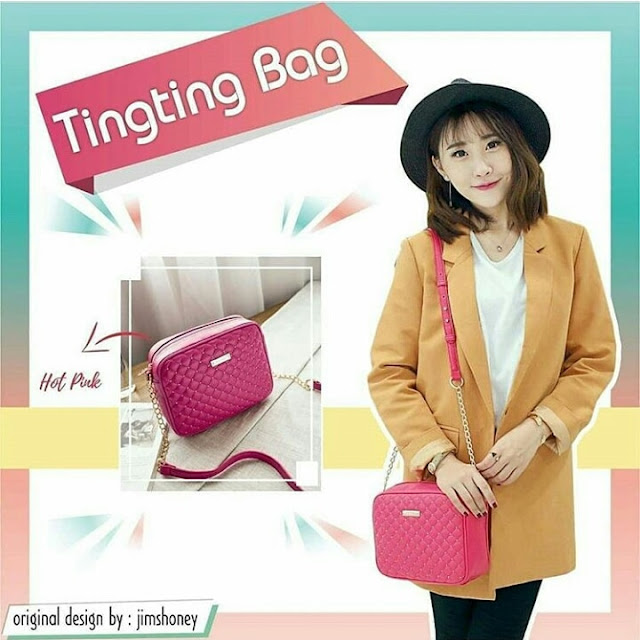 Jims Honey Ting Ting Bag Hotpink