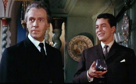 Noel Willman as Dr. Ravna and Edward de Souza as Gerald Harcourt