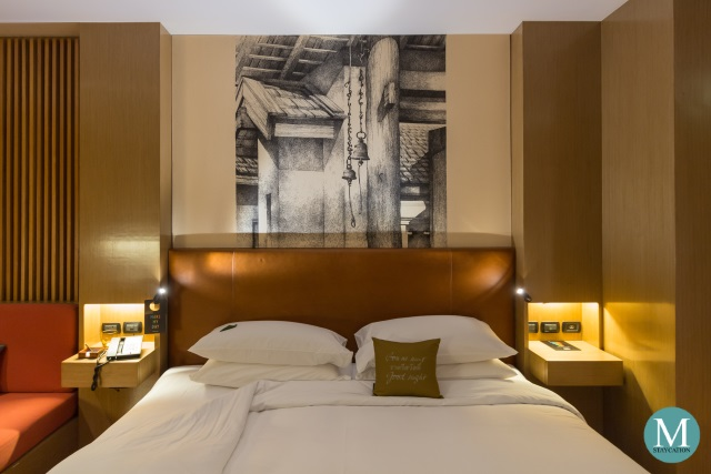 SO Comfy Room Wood Element at SO Sofitel Bangkok