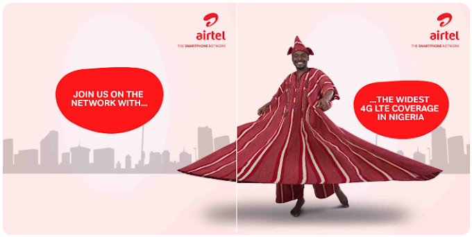 Airtel's 4G Network is Now in Over 56 Major Cities in Nigeria, 100 Cities to be Covered by March 2019