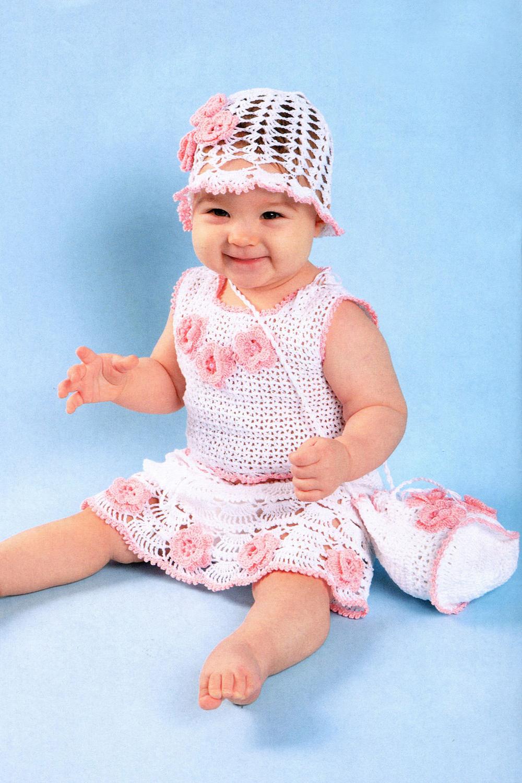 Вязание Крючком Сарафаны Для Девочек - красивые сарафаны