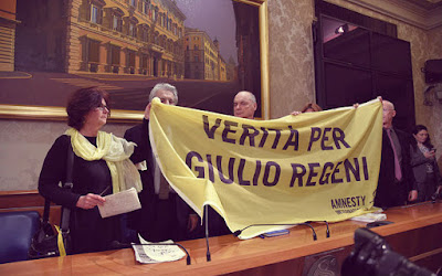 The Regenis at the Italian senate