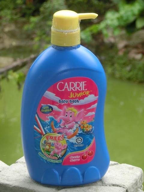 Carrie Junior Cheeky Cherry Baby Bath