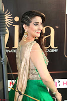 Manjusha in Beautiful Sleeveless Green Anarkali dress at IIFA Utsavam Awards 68.JPG