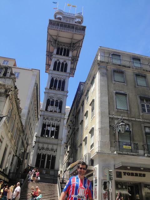 Elevador Santa Justa - Lisboa - Portugal