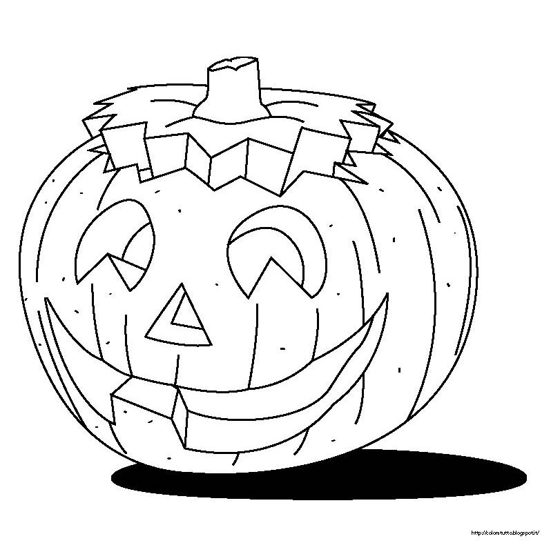 Disegni da colorare zucche di halloween - Disegni di zucche ...