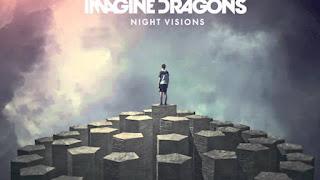 Immagine con il testo dell'album Night Visions degli Imagine Dragons