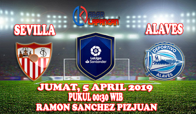 Prediksi Bola Sevilla vs Alaves 5 April 2019