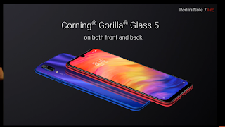 redmi note 7 pro cornning gorrilla protection