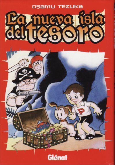 imagen del manga la nueva isla del tesoro