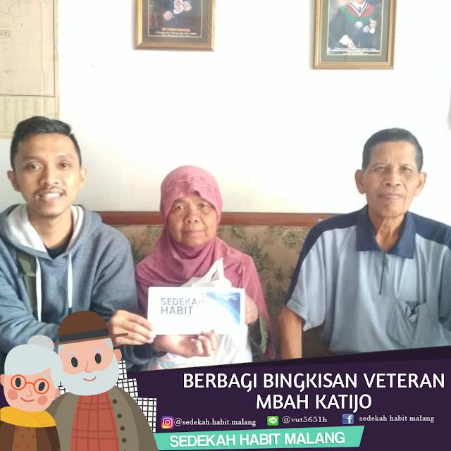 Mbak Katijo: Donasi Tunai & Bingkisan Veteran