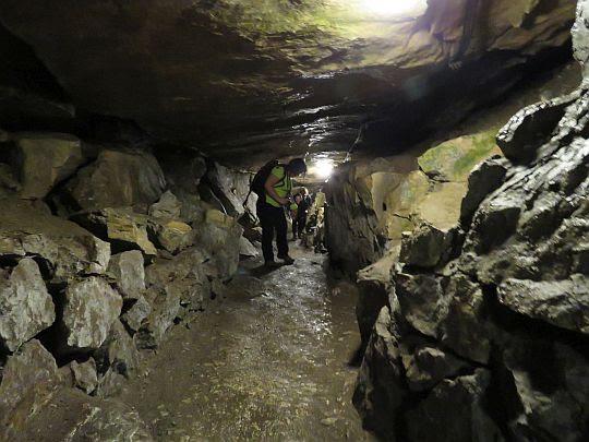 W Jaskini Mroźnej.