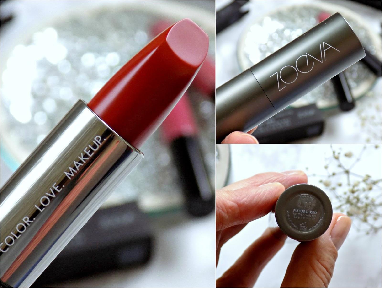 Zoeva Luxe Matte Lipstick in Futuro Red