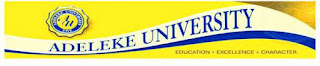 Adeleke University Admission