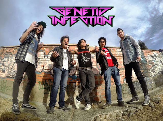 Genetic Infection, Technical Thrash Metal Band from Bolivia, Genetic Infection Technical Thrash Metal Band from Bolivia