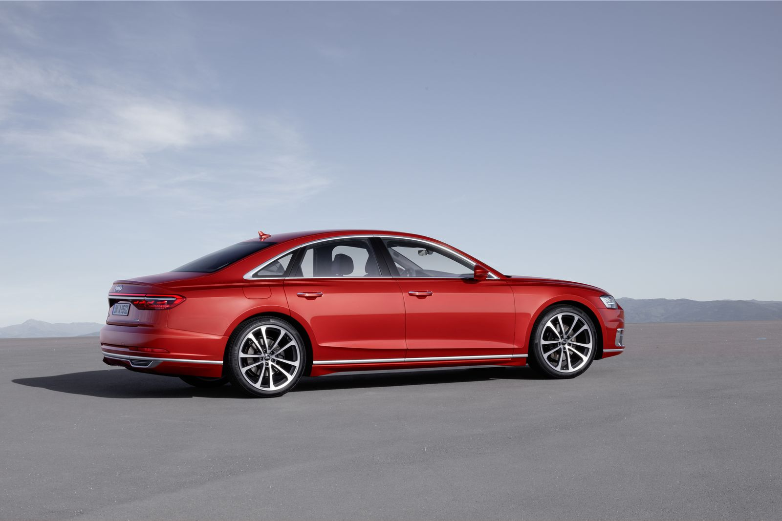 Audi A8 L Quattro >> All-New Audi A8 Combines Sophistication With Sleek Style