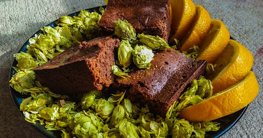Citrusly Hopped Brownie