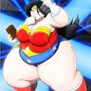 DC Super Wonder Fat Woman