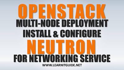 Configure Openstack Neutron Networking on Compute node