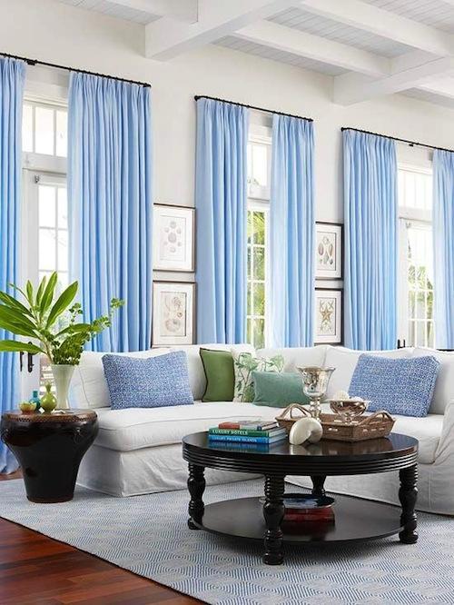 Hampton Home Design Ideas: AT HOME: CURTAIN CALL