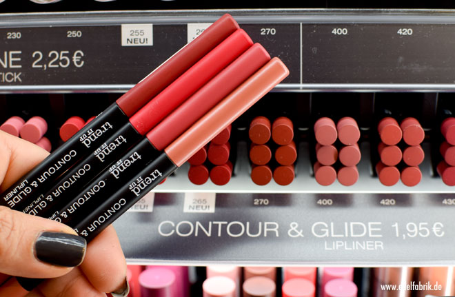 trend IT UP Color & Glide Lipliner, neues Sortiment, Winter 2017