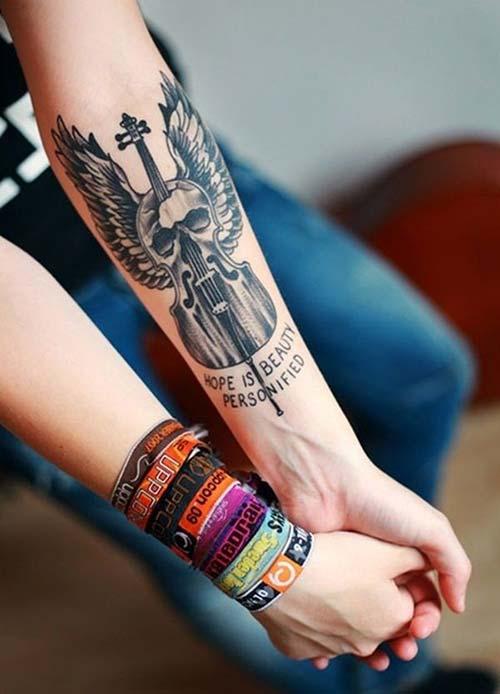 kadın iç kol dövmeleri forearm tattoo for woman