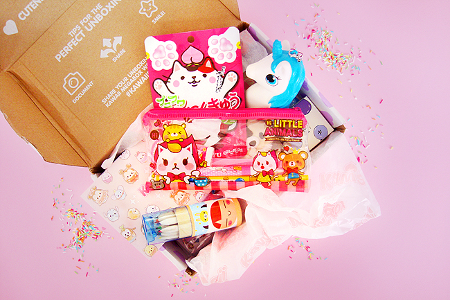 Kawaii box, review, giveaway