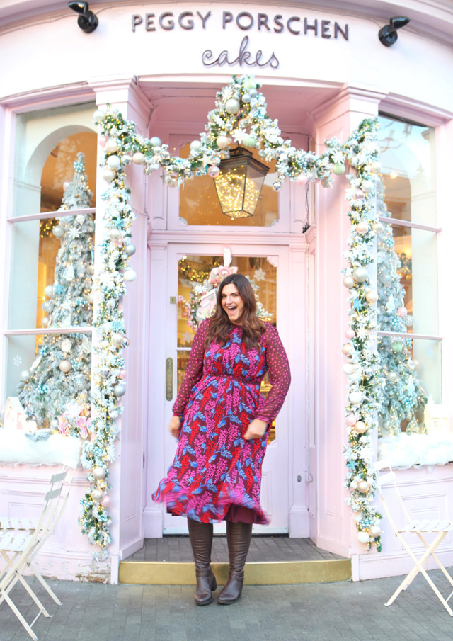 A pink dress for Christmas at Peggy Porschen