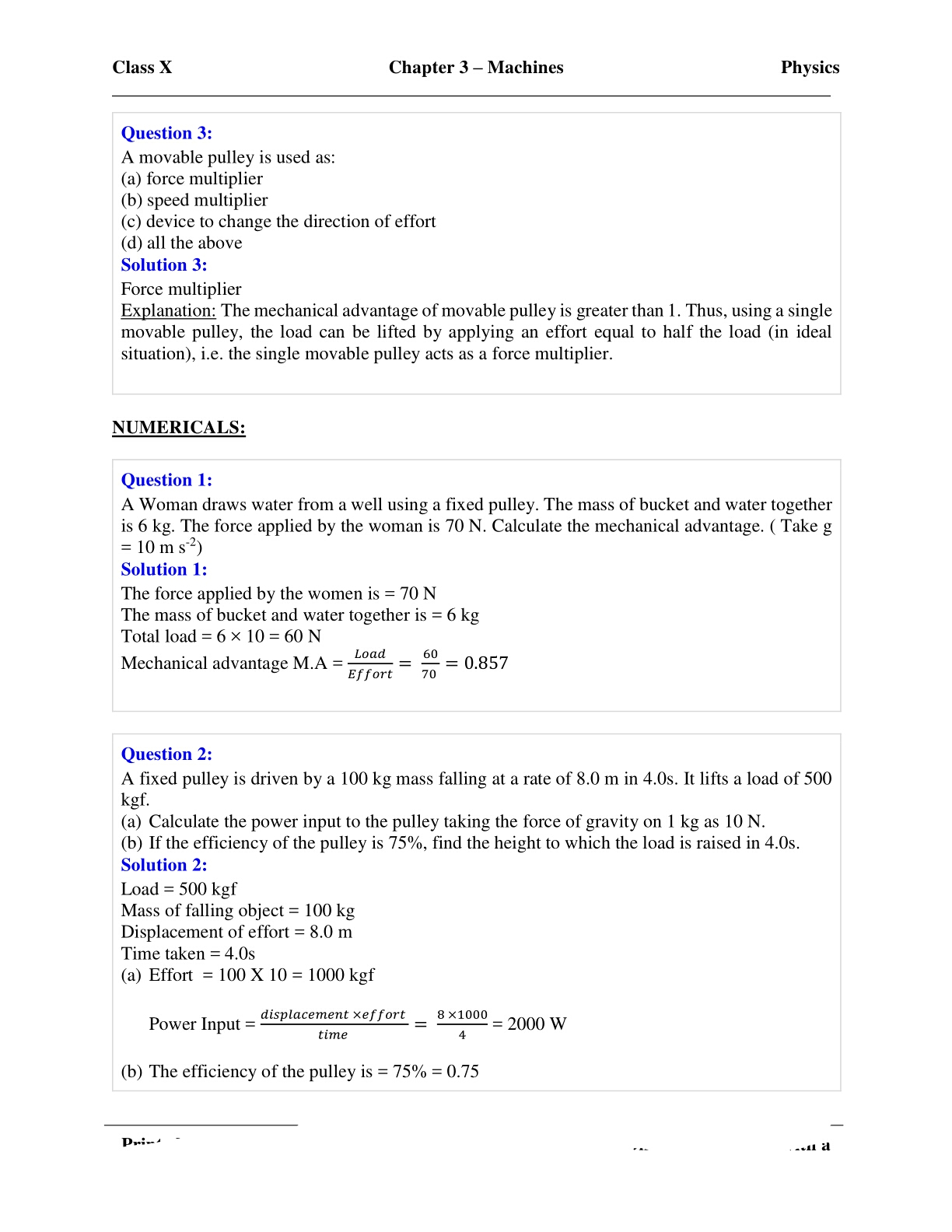 Guide To Concise Physics 10 Icse