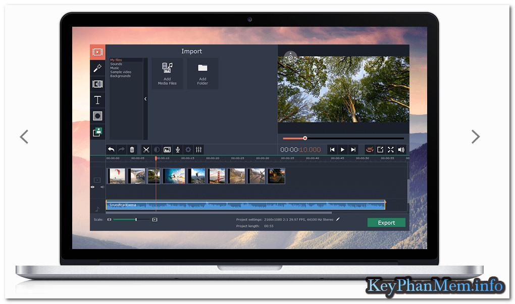Download Movavi.360.Video.Editor.1.0.0 Full Key, Phần mềm tạo và xử lý biên tập Video 360 ° chuyên nghiệp