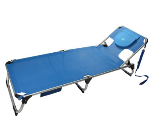 Ostrich SL-1015B Spring Lake Chaise Lounge - Blue