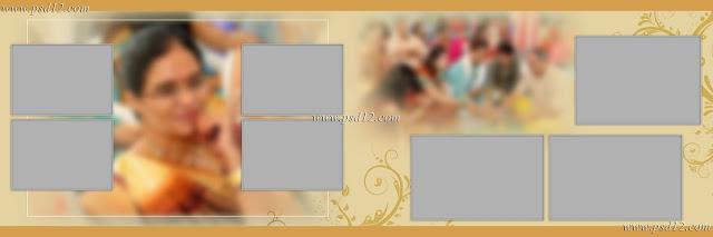 Evergreen 12x36 Album PSD Vol-9   Photo Book PSD