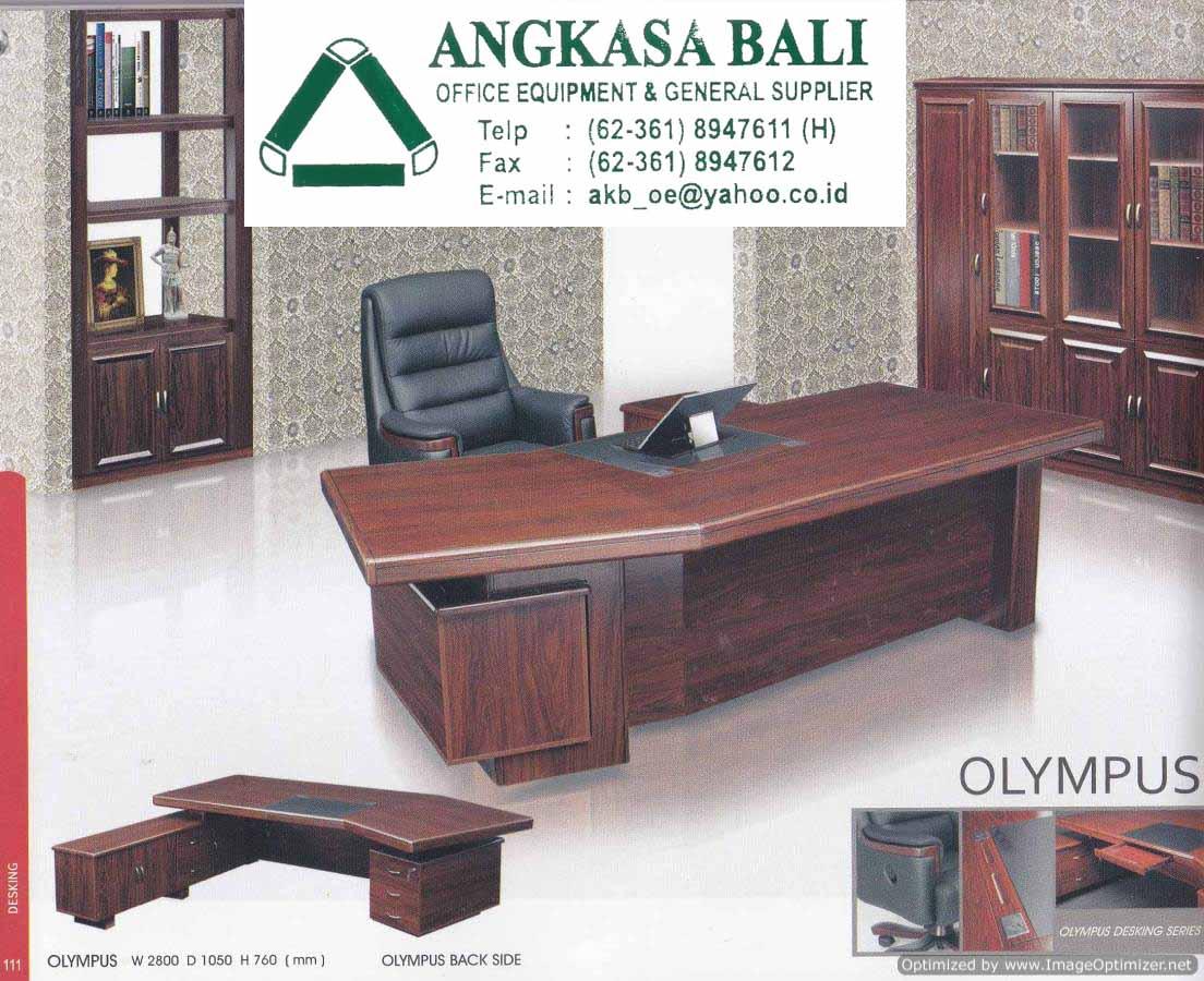 Angkasa Bali Meja Kantor Kayu Jati Furniture Di Bali