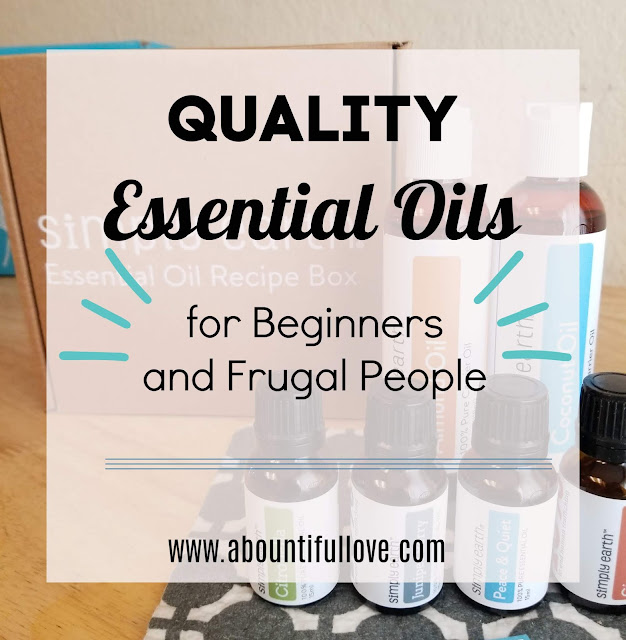 Essential Oil for Beginners and Frugal People