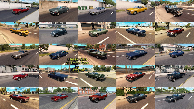 ats classic cars ai traffic pack v3.3 screenshots 2